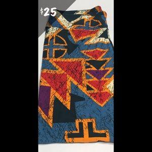 NWT LuLaRoe TC Leggings Aztec